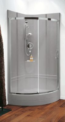 Granite finish leak free shower pod