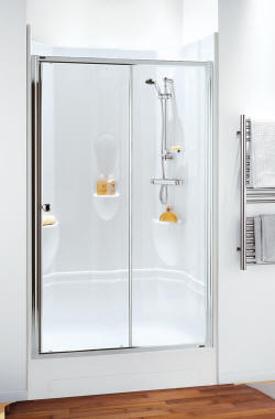CORAM Leak free shower pods