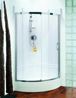 Coram shower pods are guaranteed against leaks for life
