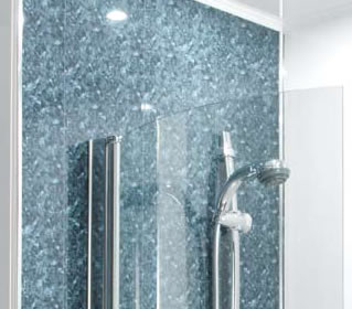 Hydropanel water proof wall panels for showers