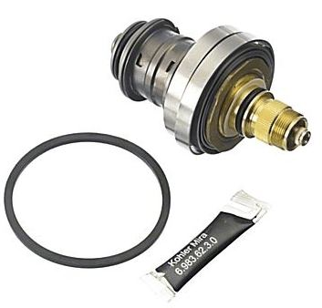 Mira 722 shower valve replacement cartidge assembly for gravity systems