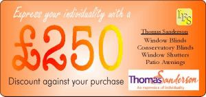 Free Offer from Thomas Sanderson - £250 discount against purchase