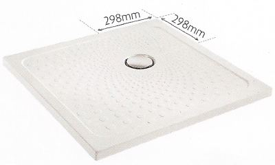 Slimline 35 shower tray 800 x 800