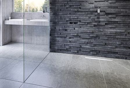 Aquadec Linear 3 wet room shower installation