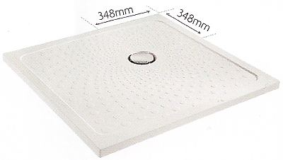 Coram Slimline 35 shower trays - ultra low profile shower tray