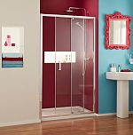 Mira sliding shower door