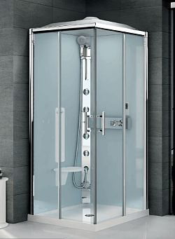 Novellini leak free shower pods, shower cabins and steam cabinets
