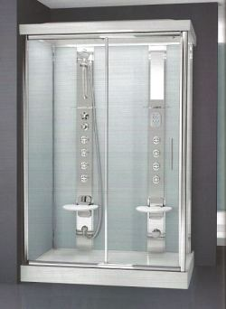 Novellini self contained luxury shower cubicles and steam pods