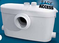 SaniAccess small bore macerator pump with easy access for maintenance